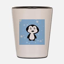 Penguin Shot Glass