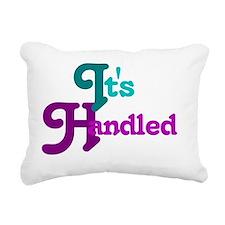 It's Handled Rectangular Canvas Pillow