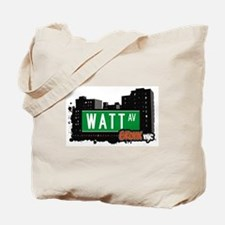Watt Av, Bronx, NYC Tote Bag