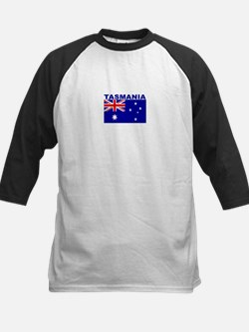 Tasmania, Australia Kids Baseball Jersey