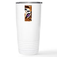 Tiger Purple Eye Travel Mug