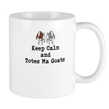 Keep Calm and Totes Ma Goats Mugs