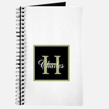 Monogram and Name Journal