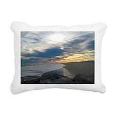 Westhampton Beach Rectangular Canvas Pillow