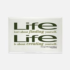 Shaw Quote No. 1 Rectangle Magnet (100 pack)