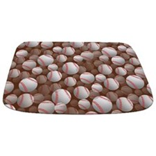 Basball Bathmat