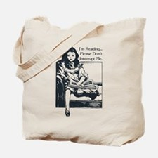 I'm Reading Tote Bag