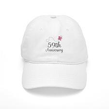 59th Anniversary Butterfly Baseball Cap