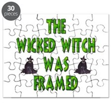 The Wicked Witch Was Framed Puzzle