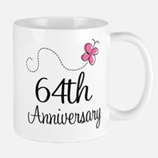 64th Anniversary Butterfly Mug