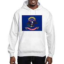 North Dakota flag Hoodie