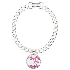 LAKE NACI w DRAGON [6 pink] Bracelet