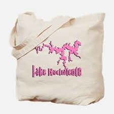 LAKE NACI w DRAGON [6 pink] Tote Bag