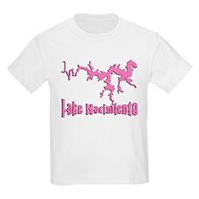 LAKE NACI w DRAGON [6 pink] T-Shirt
