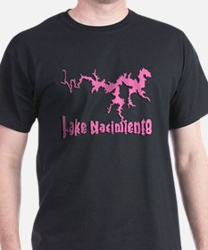 LAKE NACI w DRAGON [6 pink] T-Shirt