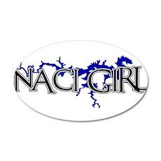 NACI GIRL [3] Wall Decal