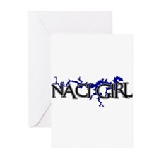 NACI GIRL [3] Greeting Cards