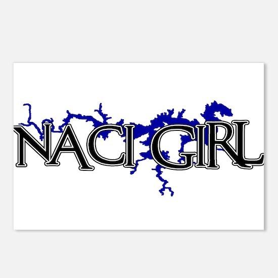 NACI GIRL [3] Postcards (Package of 8)