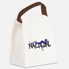 NACI GIRL [3] Canvas Lunch Bag