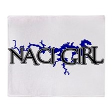NACI GIRL [3] Throw Blanket