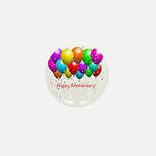 Happy Anniversary Mini Button