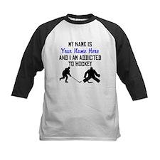 Addicted To Hockey (Custom) Baseball Jersey