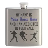Football player Flask Bottles