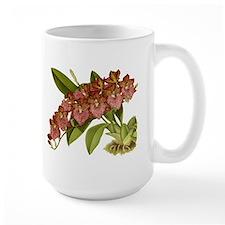 Vintage Orchid Mugs