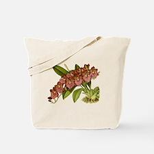 Vintage Orchid Tote Bag