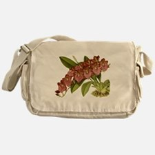 Vintage Orchid Messenger Bag