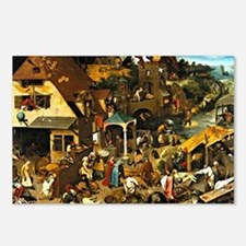 Netherlandish Proverbs, P Postcards (Package of 8)