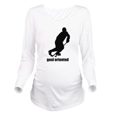 Goal Oriented Long Sleeve Maternity T-Shirt