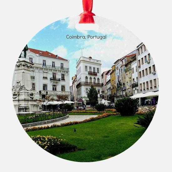 Coimbra, Portugal - World Heritage  Ornament