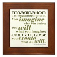 Shaw Quote No. 2 Framed Tile