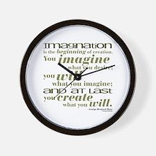 Shaw Quote No. 2 Wall Clock