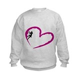 Girls climbing Crew Neck