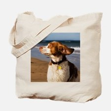 Brittany Dog Breed Tote Bag