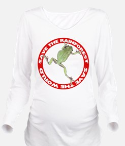 FIN-save-rainforest-treefrog.png Long Sleeve Mater