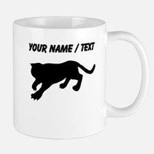 Custom Cougar Silhouette Mugs