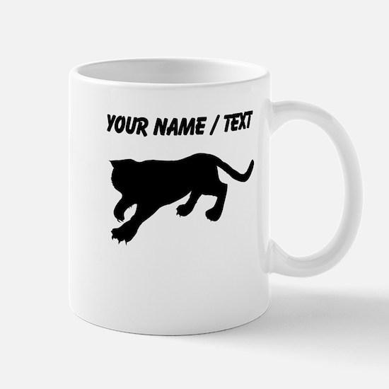 Custom Cougar Silhouette Mugs