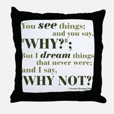 Shaw Quote No. 3 Throw Pillow