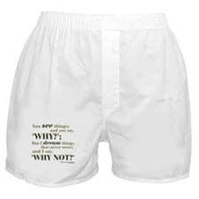 Shaw Quote No. 3 Boxer Shorts