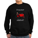 Red Tractor Addict Sweatshirt (dark)