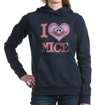 love mice.png Hooded Sweatshirt