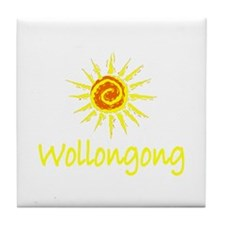 Wollongong, Australia Tile Coaster