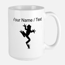 Custom Frog Silhouette Mugs