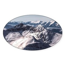 Jagged Mountain Home Decal