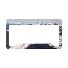 Jagged Mountain Home License Plate Holder