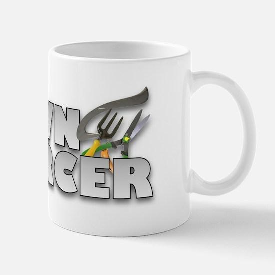 Garden Lawn Enforcer Mug