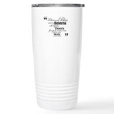 Unique Follow your bliss Travel Mug